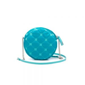 Purse in Embroidered Technical Fabric